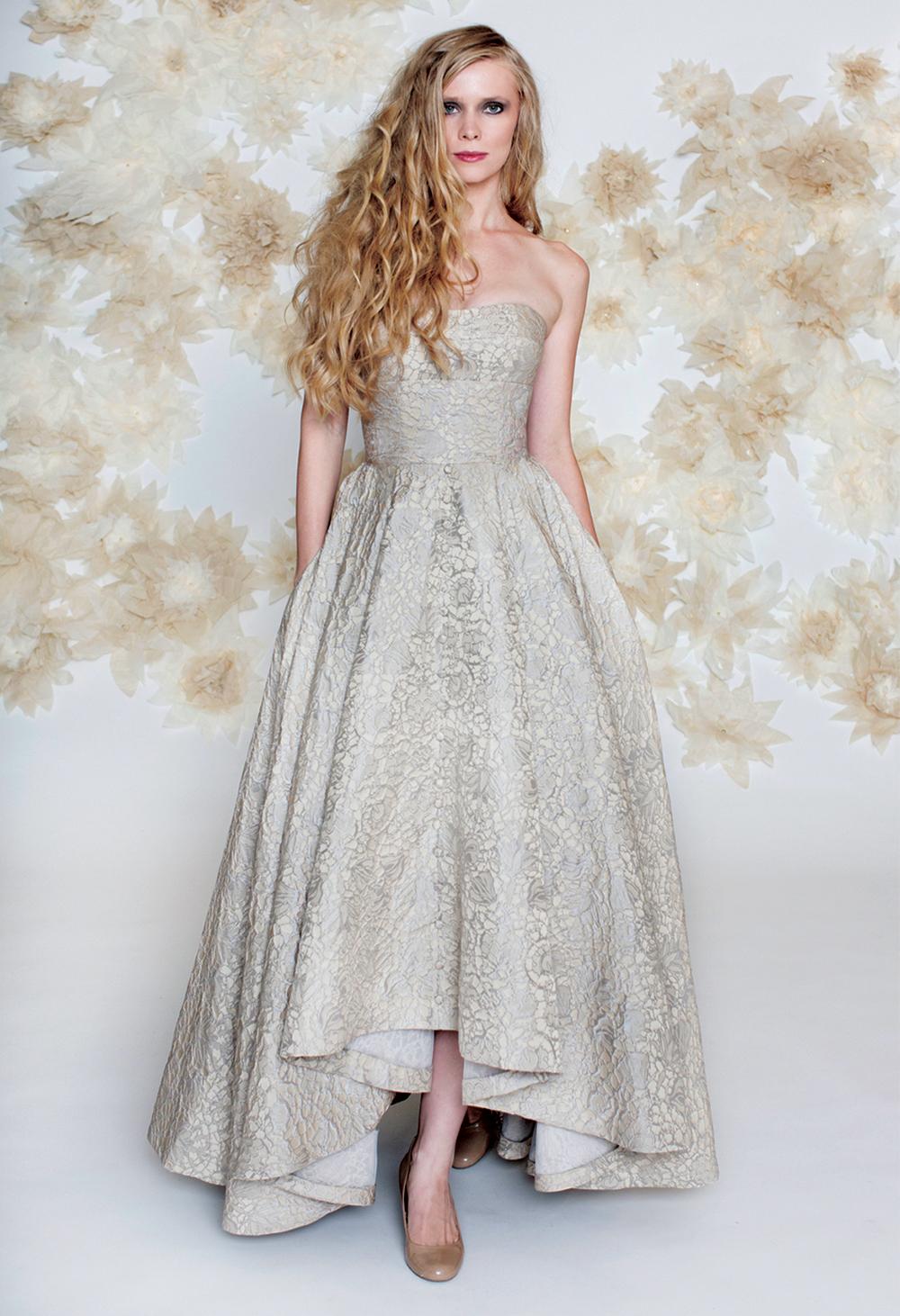 high low hem high low wedding dresses via Alta Moda Bridal